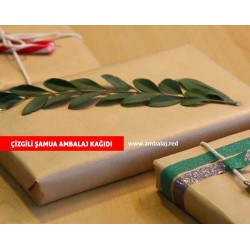 Çizgili Şamua Ambalaj Kağıdı 1 kg