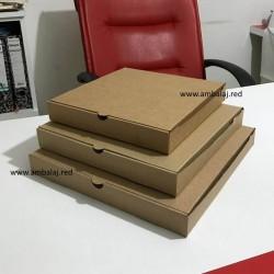 Baskısız Pizza Kutusu | 100 Adet