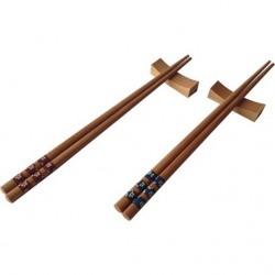 Çok Şık Chopstick Seti | 12 Parça | Bambu