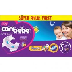 Canbebe Bebek Bezi | 5 Beden | 120 Adet