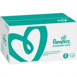 Prima Bebek Bezi Premium Care | 5 Beden Junior Aylık Fırsat Paketi 136 Adet